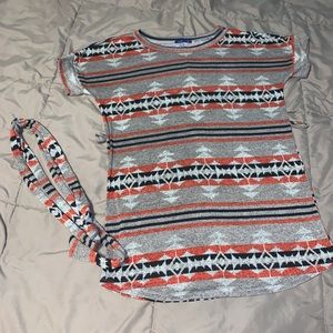 Sweet Claire tunic top NO SIZE TAG large (?)